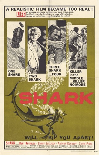Shark Movie Poster by Unknown for $26.25 CAD