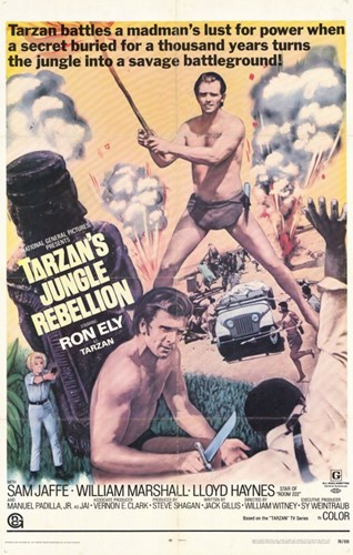 Tarzan's Jungle Rebellion, c.1970 Poster by Unknown for $26.25 CAD