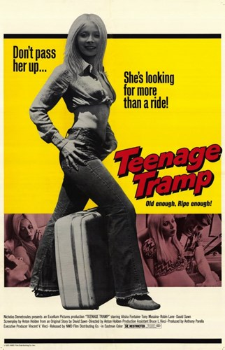 Teenage Tramp Poster by Unknown for $26.25 CAD