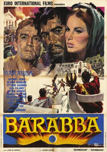 Barabbas Poster by Unknown for $26.25 CAD