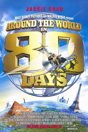 Around the World in 80 Days Jackie Chan Poster by Unknown for $26.25 CAD