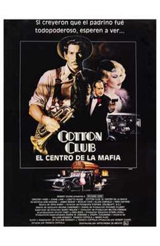 The Cotton Club Spanish Poster by Unknown for $26.25 CAD