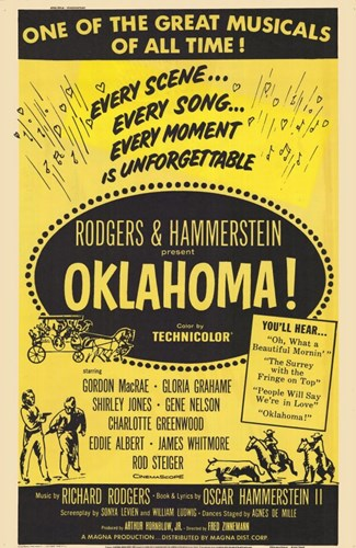 Oklahoma Musical Poster by Unknown for $26.25 CAD