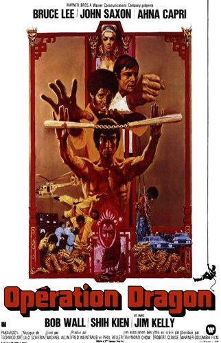 Enter the Dragon Nunchucks Poster by Unknown for $26.25 CAD