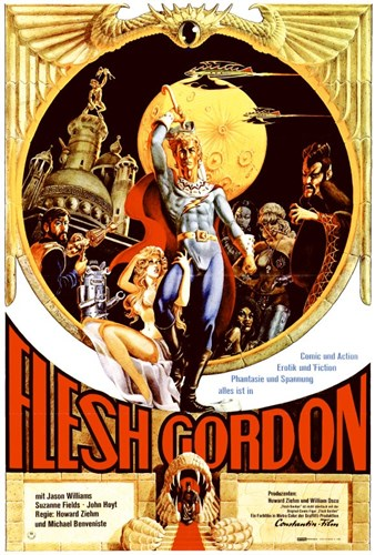 Flesh Gordon Poster by Unknown for $26.25 CAD