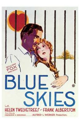 Blue Skies Poster by Unknown for $26.25 CAD
