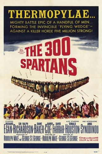 The 300 Spartans Poster by Unknown for $26.25 CAD