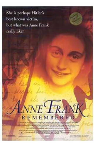 Anne Frank Remembered Poster by Unknown for $26.25 CAD