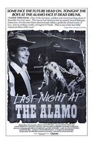 Last Night At the Alamo Poster by Unknown for $26.25 CAD