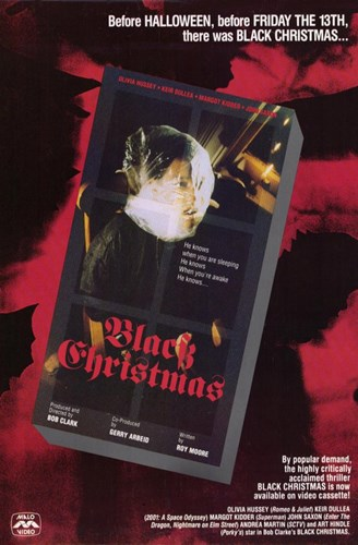Black Christmas Poster by Unknown for $26.25 CAD