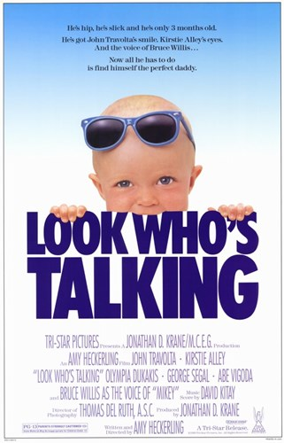 Look Who's Talking Poster by Unknown for $26.25 CAD