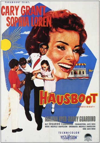 Houseboat Poster by Unknown for $26.25 CAD