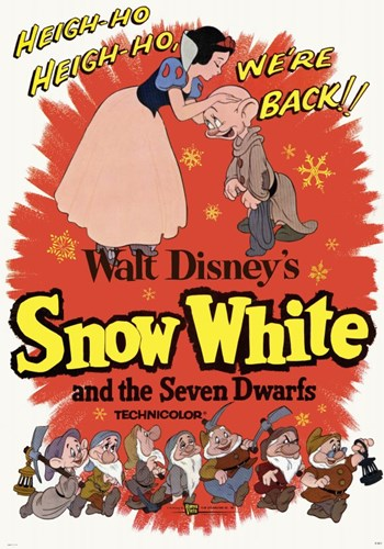 Snow White and the Seven Dwarfs Heigh-Ho! Poster by Unknown for $26.25 CAD