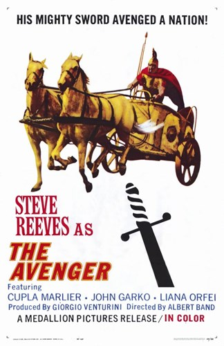 The Avenger Poster by Unknown for $26.25 CAD