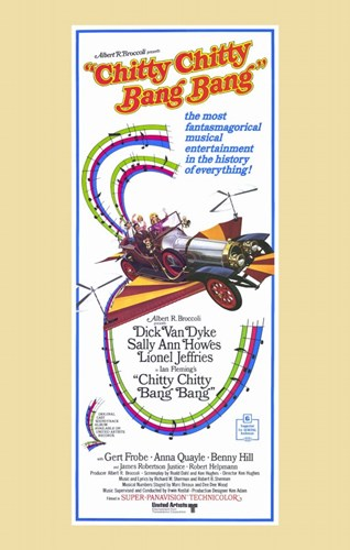 Chitty Chitty Bang Bang - tall Poster by Unknown for $26.25 CAD