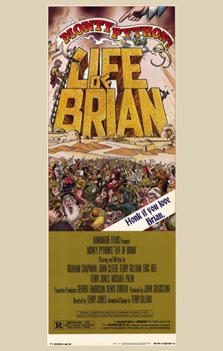 Monty Python's Life of Brian Film Poster by Unknown for $26.25 CAD