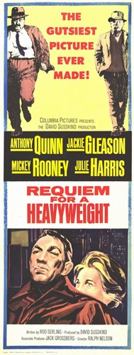 Requiem for a Heavyweight Anthony Quinn Poster by Unknown for $26.25 CAD