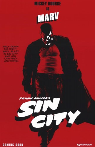 Sin City Marv Poster by Unknown for $26.25 CAD