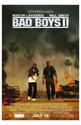 Bad Boys II Movie Poster by Unknown for $26.25 CAD