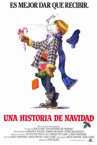 A Christmas Story Spanish Poster by Unknown for $26.25 CAD