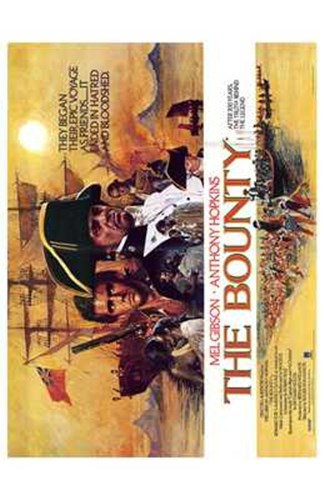 The Bounty Anthony Hopkins Poster by Unknown for $26.25 CAD