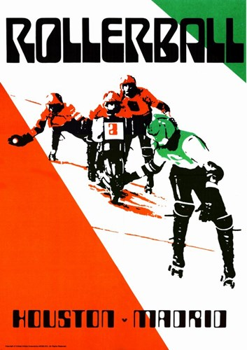 Rollerball - Red and Green Poster by Unknown for $26.25 CAD