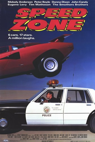 Speed Zone Poster by Unknown for $26.25 CAD