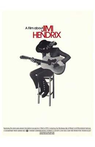 A Film About Jimi Hendrix Poster by Unknown for $26.25 CAD