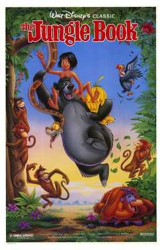 The Jungle Book Disney Classic Poster by Unknown for $26.25 CAD
