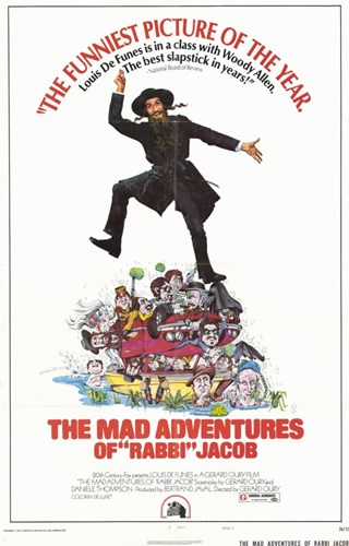 Mad Adventures of Rabbi Jacob Poster by Unknown for $26.25 CAD
