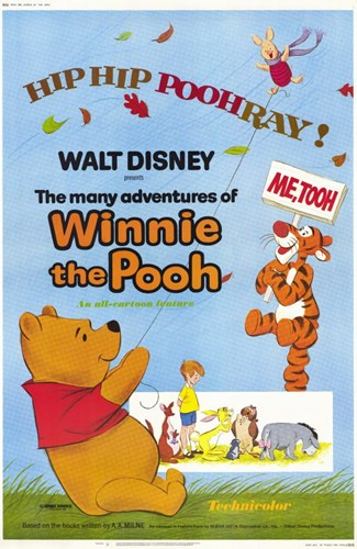 Many Adventures of Winnie the Pooh Poster by Unknown for $26.25 CAD