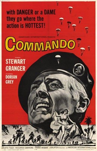 Commando Poster by Unknown for $26.25 CAD