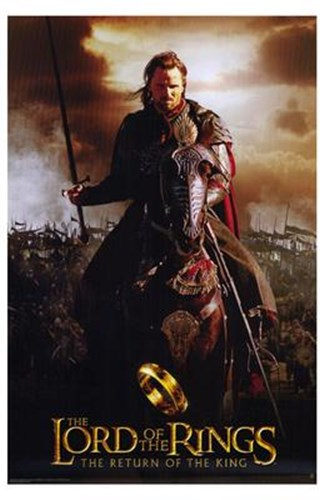 Lord of the Rings: Return of the King Riding on Horse Poster by Unknown for $26.25 CAD