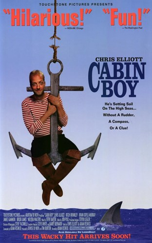 Cabin Boy - on an anchor Poster by Unknown for $26.25 CAD