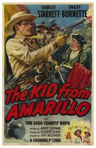 The Kid from Amarillo Poster by Unknown for $26.25 CAD
