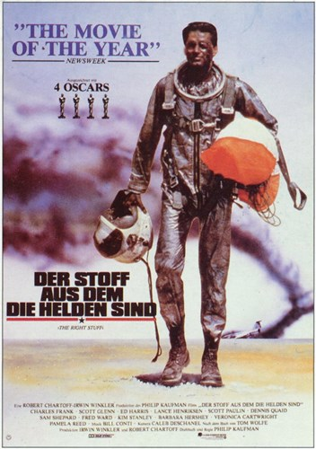 The Right Stuff Der Stoff Poster by Unknown for $26.25 CAD