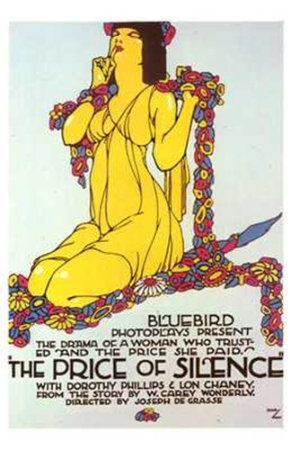 The Price of Silence Poster by Unknown for $26.25 CAD