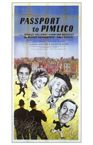 Passport to Pimlico Poster by Unknown for $26.25 CAD
