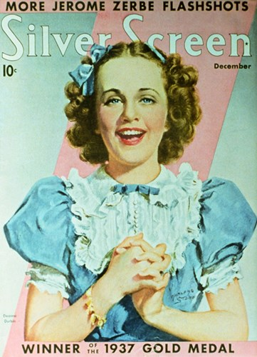 Deanna Durbin - silver screen Poster by Unknown for $26.25 CAD