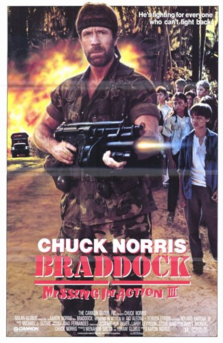 Braddock: Missing in Action 3 Poster by Unknown for $26.25 CAD
