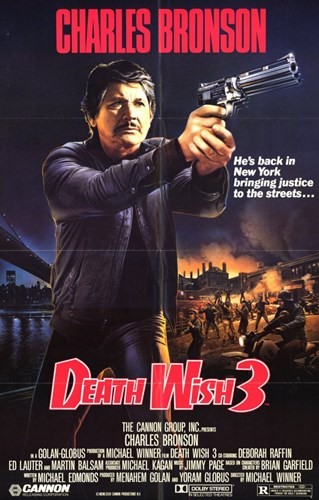 Death Wish 3 Poster by Unknown for $26.25 CAD