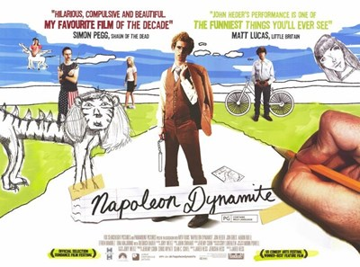Napoleon Dynamite Horizontal Poster by Unknown for $26.25 CAD