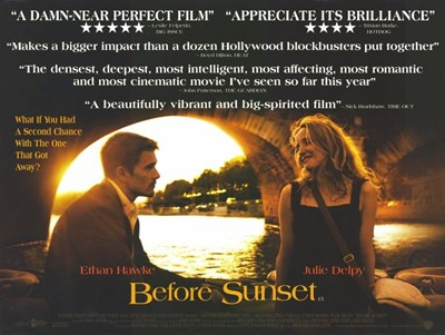 Before Sunset Critics Acclaim Poster by Unknown for $26.25 CAD