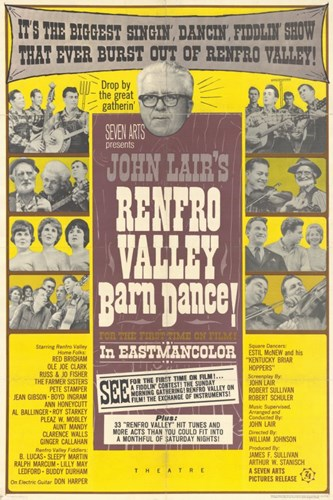 Renfro Valley Barn Dance Poster by Unknown for $26.25 CAD