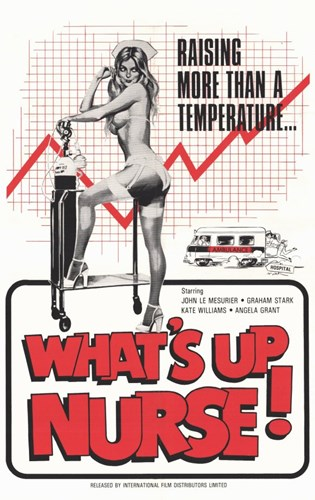 What's Up Nurse Poster by Unknown for $26.25 CAD