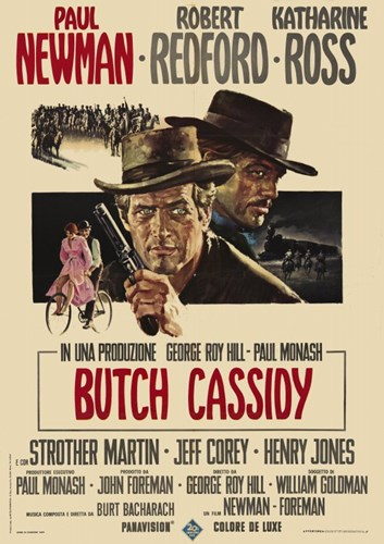 Butch Cassidy and the Sundance Kid Paul Newman Poster by Unknown for $26.25 CAD