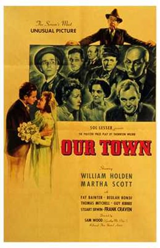 Our Town Poster by Unknown for $26.25 CAD