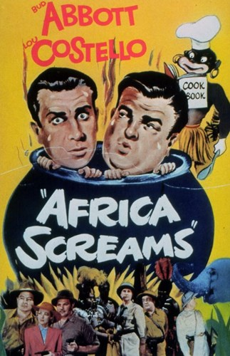 Abbott and Costello, Africa Screams, c.1949 - style A Poster by Unknown for $26.25 CAD