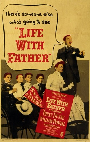 Life with Father Poster by Unknown for $26.25 CAD