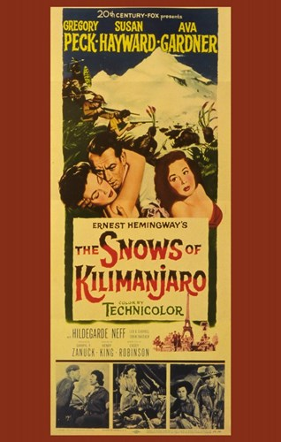The Snows of Kilimanjaro Poster by Unknown for $26.25 CAD